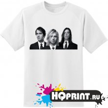 Футболка c группой Nirvana
