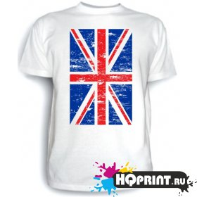 Футболка Флаг британский