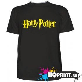 Футболка логотип Гарри Поттер
