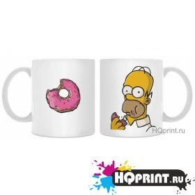 Кружки Гомер и пончик
