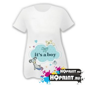 Футболка  It's a boy