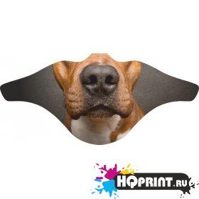 Ветрозащитная маска Собака