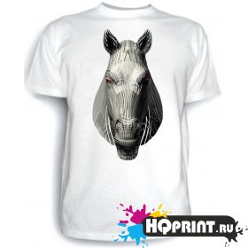 Футболка Железный конь