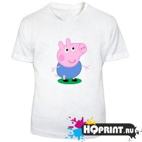 Детская футболка Братик Пеппы