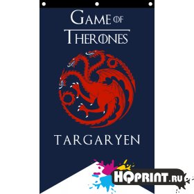 Флаг дома Таргариен Игра Престолов