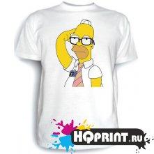 Футболка Гомер в очках