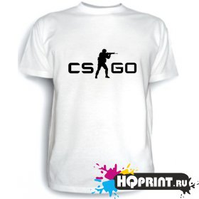 Футболка CS GO (лого)