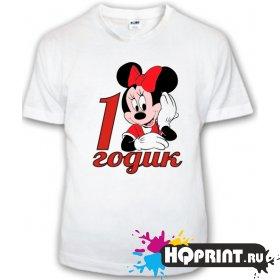 Детская футболка Минни (1 годик)