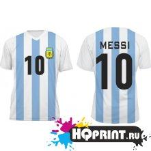Футболка сборной Аргентины – Месси