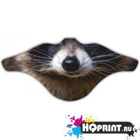 Ветрозащитная маска Енот 2