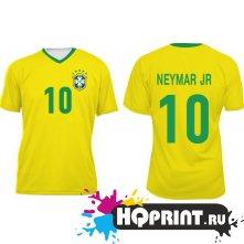 Футболка сборной Бразилии – Неймар