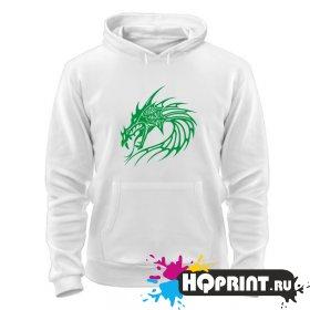Толстовка Китайский дракон (голова)