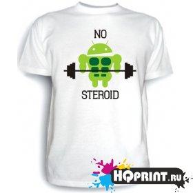 Футболка No steroid