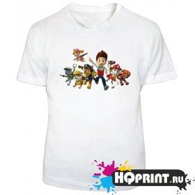 Детская футболка Щенячий патруль