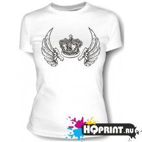 Футболка Корона с крыльями