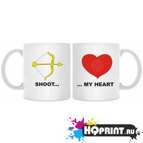 Кружки shoot my heart