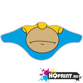 Ветрозащитная маска Гомер Симпсон