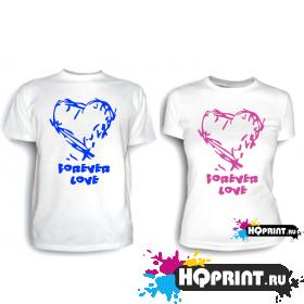 Парные футболки Вечная любовь