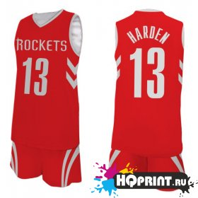 Баскетбольная форма NBA NEW Хьюстон Рокетс №13 Джеймс Харден