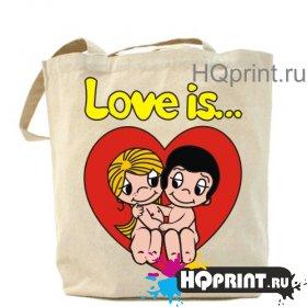 Сумка Love is...