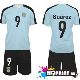 Футбольная форма сборная Уругвая – Суарес