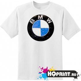 Футболка логотип BMW