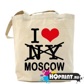 Сумка I love Mosсow