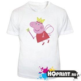 Детская футболка Peppa (фея)