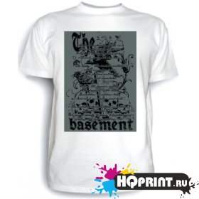 Футболка The basement