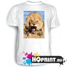 Футболка Злой лев