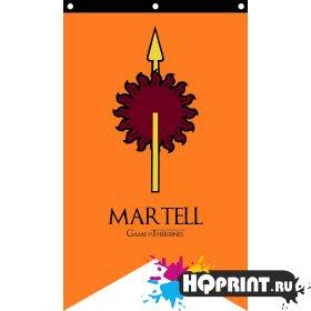 Флаг дома Мартелл Игра Престолов
