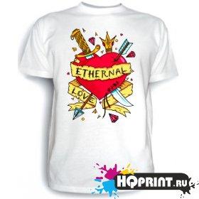 Футболка Ethernal love