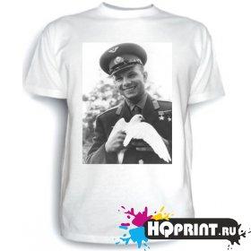 Футболка Юрий Гагарин
