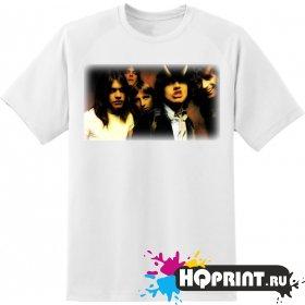 Футболка рок группа AC DC