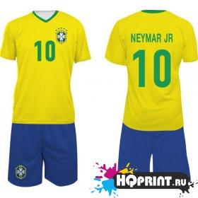 Футбольная форма сборная Бразилии – Неймар