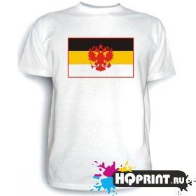 Футболка Имперский флаг с гербом