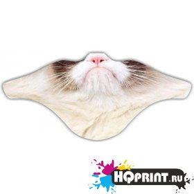 Ветрозащитная маска Кот 2
