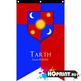 Флаг дома Тарт Игра Престолов