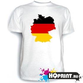 Футболка Карта Германии