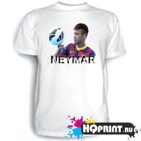 Футболка Неймар с мячом