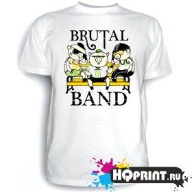Футболка Brutal band