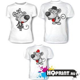 Комплект футболок Мышки