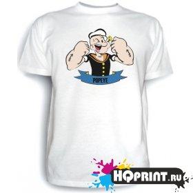 Футболка Popeye (моряк)