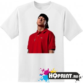 Футболка рэпер Eminem