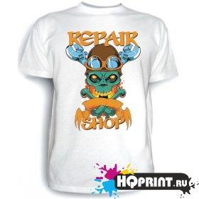 Футболка Repair shop (ремонтная мастерская)