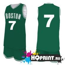 Баскетбольная форма Бостон №7