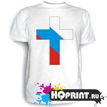 Футболка Флаг России