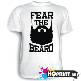 Футболка Fear the beard