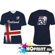 Футболка сборной Исландии