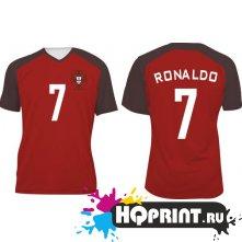 Футболка сборной Португалии – Роналду